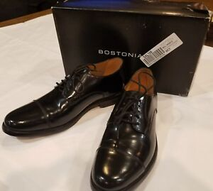 Bostonian-Black-leather-men-039-s-Kinnon-Cap-Toe-Oxfords