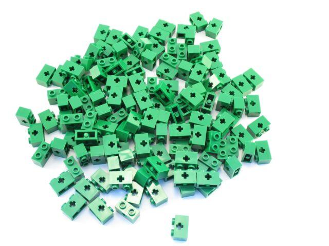 Brick 1x2 Axle Hole New New 4 x lego Technic 32064 Brick Axle Red, Red