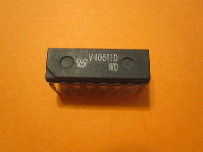 HEF4511BP BCD to 7-segment latch/decoder/driver(2 ITEMS)