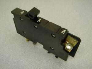 15A-XO-BREAKER-15-Amp-Single-Pole-Square-D-amp-Cutler-Hammer-GUARANTEED-Nice