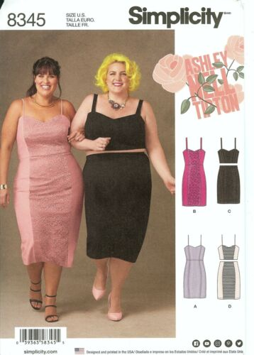 Simplicity Sewing Pattern Womens Plus Size Fashion New Spring 2017 You Pick