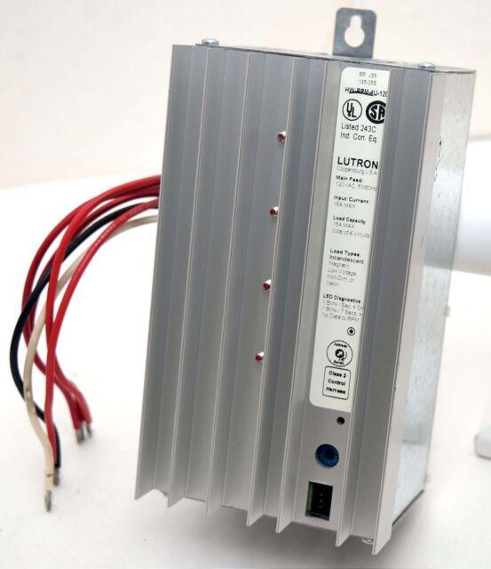 Lutron Homeworks Hwi-wpm-6d-120 Wallbox Power Module 6 Zones 120v ...