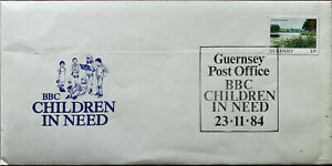 BBC-Children-In-Need-Guernsey-Post-Office-Cover-84-St-Saviour-s-Harbour-Stamp
