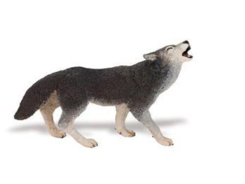 Wolf 9 cm Series Wild Animals of North America New Version Safari Ltd 273829