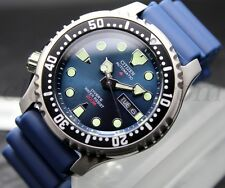 Citizen Promaster Aqualand Automatic Sub NY0040-17L Diver's 20bar Men Uomo BLU