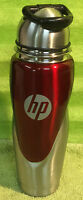 Hp Hewlett Packard Stainless Steel Aluminum Travel Drinking Drink Water Bottle