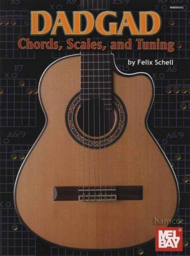 Scales and Tuning Guitar Book by Felix Schell DADGAD Chords