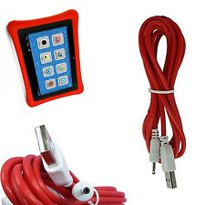Tablet Tab Charger Adapter For NABi 2 II NV7A NVA 9 Feet Long Red Cord