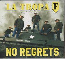"+Tejano CD-Tropa F-(Farias Army) ""No Regrets"" Tejano TexMex Latin CD NEW"