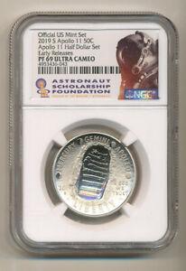 2019-S-APOLLO-Half-Dollar-NGC-PF69-UCAM-ER-from-set-ASF-Astronaut-label-Proof