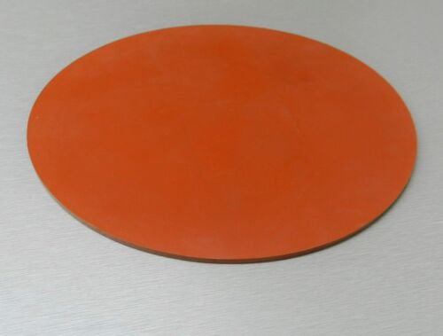 """Silicone Rubber Pad 12/"""" Round Disc Gasket Material Heat Absorbent Sheet 1//8/"""""""