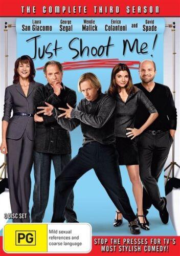 1 of 1 - Just Shoot Me! : Season 3 (DVD, 2015, 3-Disc Set)