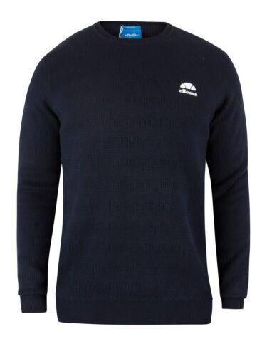 maglia Pullover strutturato di large lavorato a Brindisi tessuto in uomo blu da Ellesse pwC6w1x4