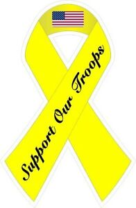 Support-Our-American-Troops-Ribbon-Decal-Sticker