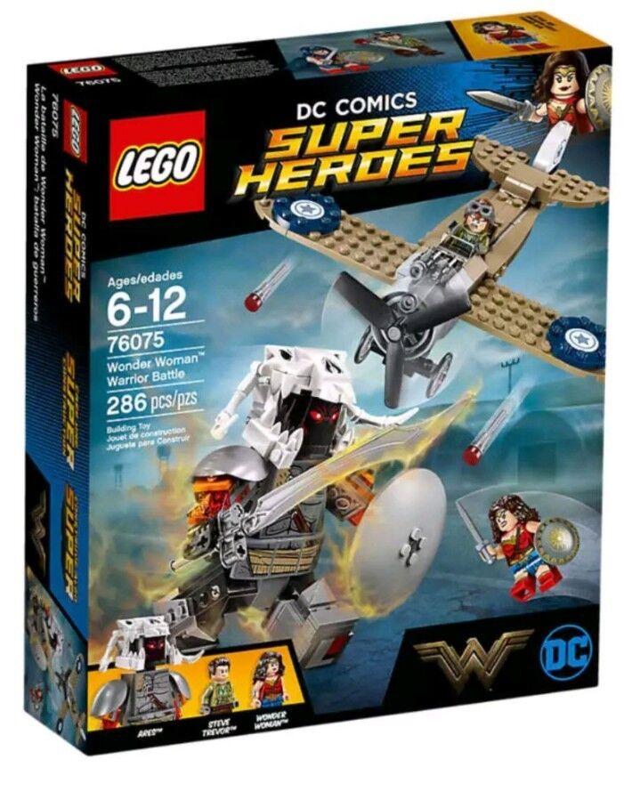 Lego Super  Heroes 76075 Wonder donna Warrior Battle  più ordine
