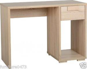 Oak-Effect-Computer-Study-Pc-Desk-W100cm-x-D45cm-x-H75cm-CAMBRIDGE