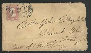 1860s-Columbus-OH-fancy-cancel-to-Licking-Ohio-Scott-65-with-original-photo