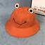 Summer Cotton Cute Frog Bucket Hat Men Women Outdoor Foldable  Fisherman Hat