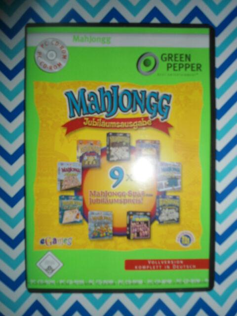 Mahjongg Jubiläumsausgabe [Green Pepper] 9 verschiedene MahJonngg Spiele