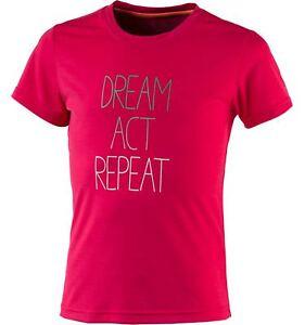 Agressif Tecno Pro Fille Tennis Sport T-shirt Pia Ii Gls Pink-afficher Le Titre D'origine Rendre Les Choses Pratiques Pour Les Clients