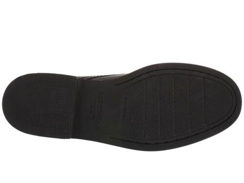 Men/'s Shoes Clarks Bostonian WALKER MID Leather Ankle Moc Toe Boots 45096 BLACK