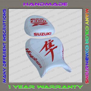 Custom-White-Red-Seat-Cover-Suzuki-GSX1300R-Hayabusa-08-Second-Gen