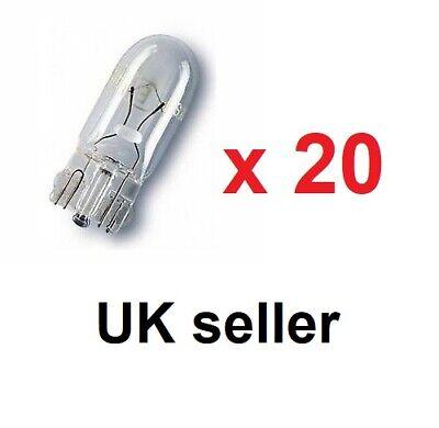 10 x 501 12V 5w Capless wedge 10mm Side /& Indicator Light