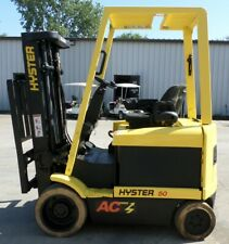 Hyster Model E50z 33 2008 5000 Lbs Capacity Great 4 Wheel Electric Forklift