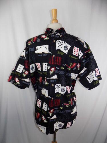 Poker Grand Ss Chemise BitBridle boutonnée Hold 'em Texas Homme bf7gyY6Iv