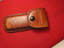 OLD TIMER SCHRADE  UNCLE HENRY BROWN leather sheath folding hunter 25OT