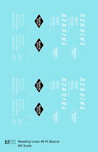 K4-HO-Decals-Reading-40-Ft-Boxcar-White-Diamond-Logo