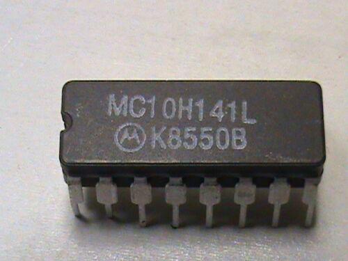 MC10H141L integrated circuit pk//5  @ $10.00   16 pin dip