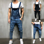 Men-Distressed-Denim-Overalls-Suspender-Trousers-Bib-Pants-Skinny-Jean-Jumpsuits thumbnail 8