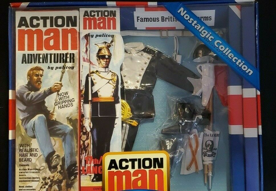 Vintage Action Man 40th Anniversary Nostalgic Collection Adventurer
