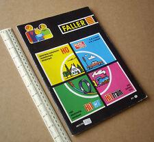 1971 Faller Catalogue - Railway, Aircraft, Slot Car, Lineside Kits. Exceptional