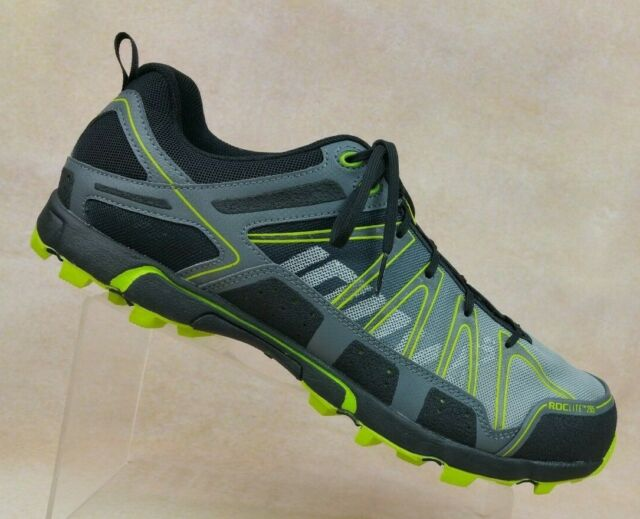 new style 67a22 dc231 Inov-8 Roclite 295 Black/Gray Multi Terrain Trail Running Trainers Shoes  Mens 14