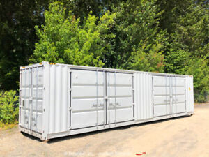 40' HQ High-Cube Two Side Door Shipping Storage Container Conex bidadoo -New