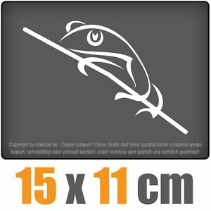 Lagarto-15-x-11-cm-JDM-decal-sticker-coche-car-blanco-discos-pegatinas