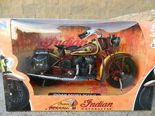 NEW-RAY 1:12 *INDIAN MOTORCYCLES* Indian Sport Scout *DIECAST* NIB!