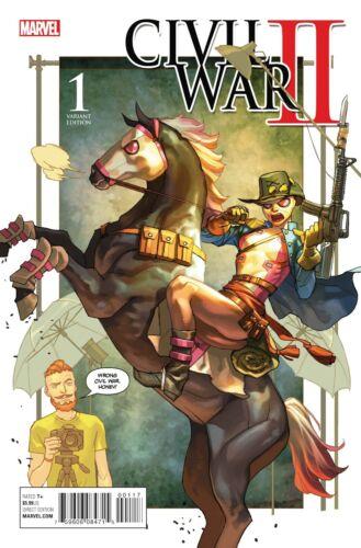 OF 8 CIVIL WAR II #1 PARTY VARIANT 2016 Marvel Comics