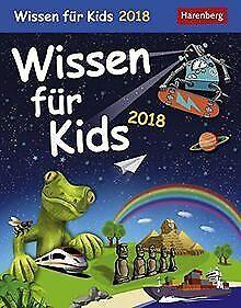 Wissen für Kids - Kalender 2018 von Schlitt, Christ...   Buch   Zustand sehr gut