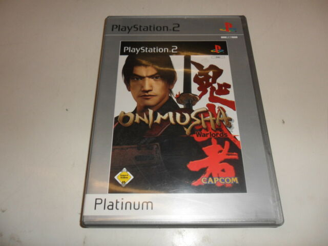 PlayStation 2 PS 2 Onimusha caudillos [Platinum]