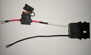 power wheels wiring harness wire harness connector for fisher price   power wheel ebay  wire harness connector for fisher price