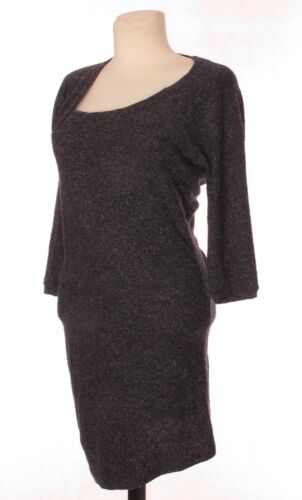 Cotton Grey Asymetric Sleeve 4 Humanoid Wool 3 Silk L Khaki Dress Blend gxwRSn67q
