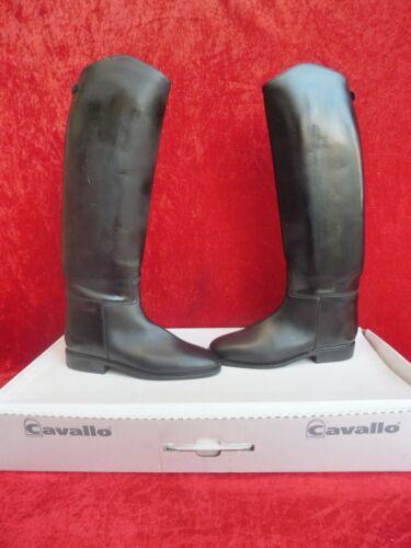 größe schwarz leder Cavallo neu 39 Reitstiefel crossover PRWqZp