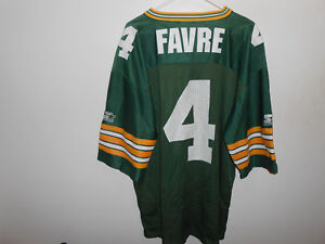 best loved 3cc11 9ad39 Details about Vintage Authentic Brett Favre Green Bay Packers Starter  Jersey XL