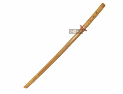60cm Kendo Samurai Practice Wooden Wood Sword training Katana Bokken E/_n