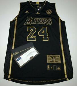 Details about Kobe Bryant Signed Black Mamba Adidas Final Game Basketball Jersey Panini