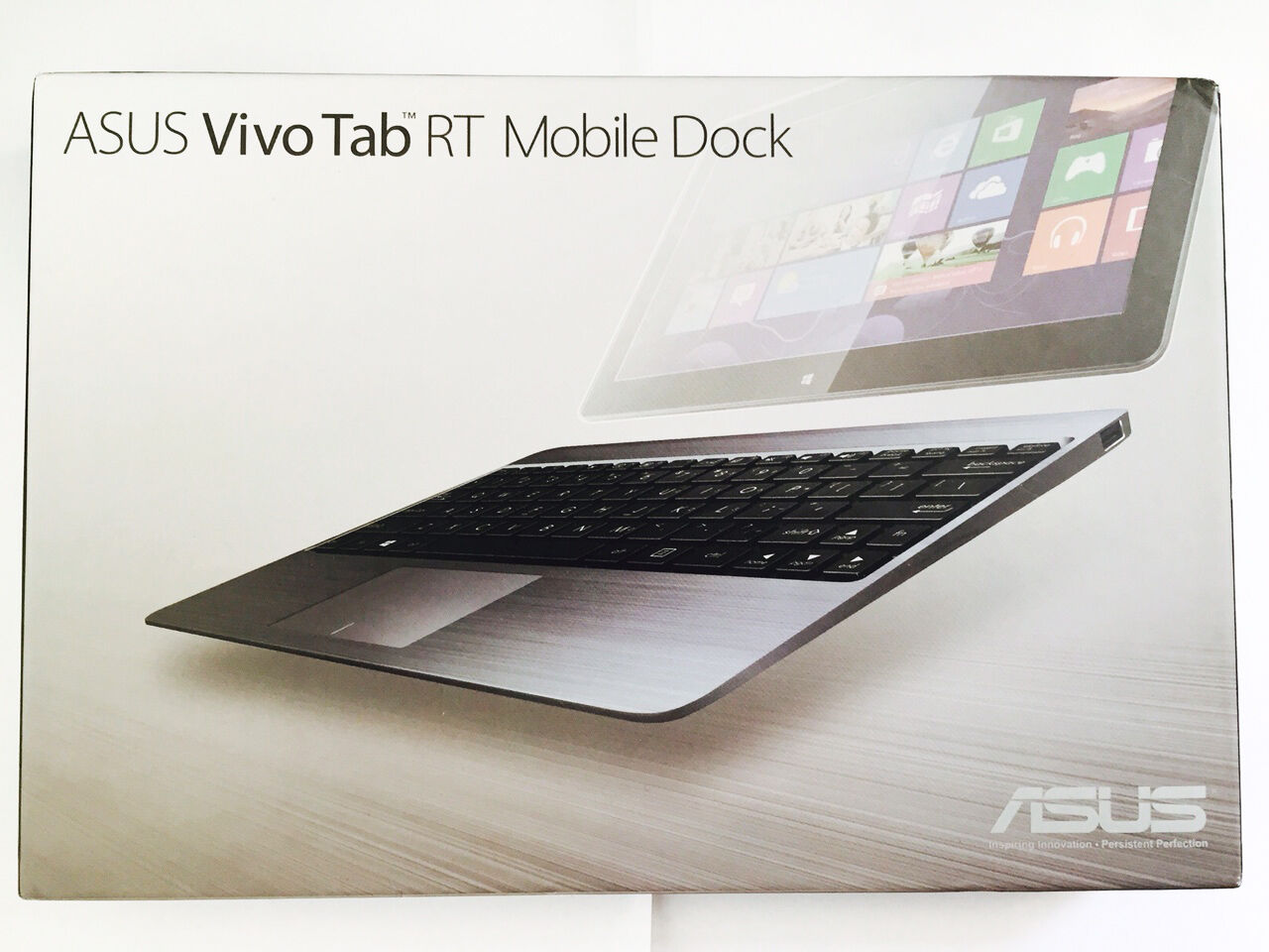 NEW-ASUS VivoTab RT Dock with Keyboard Touchpad Battery TF600T-DOCK-GR 28641