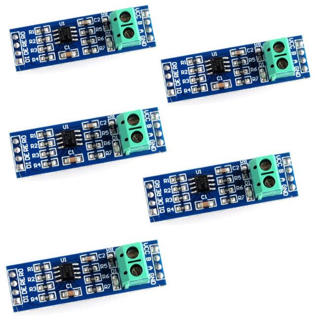 5PCS MAX485 RS-485 Module TTL to RS-485 module for Arduino Raspberry   uxMWCA